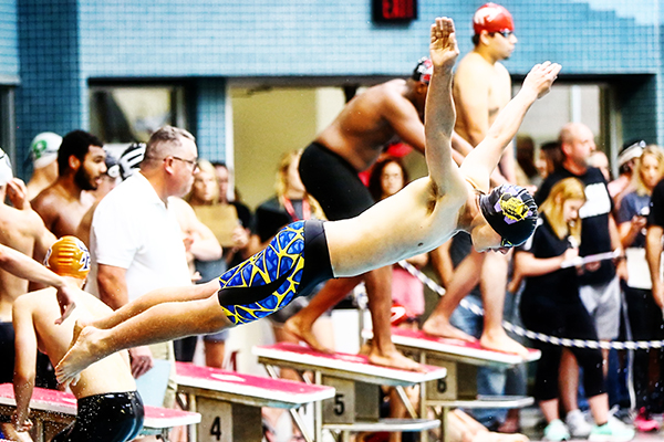 Swim Team Growing, Ready For District